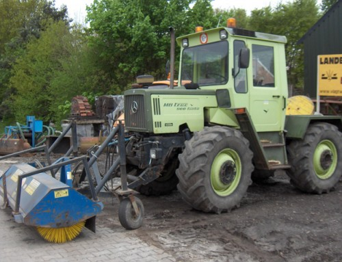 Tractor MB Trac 900 turbo